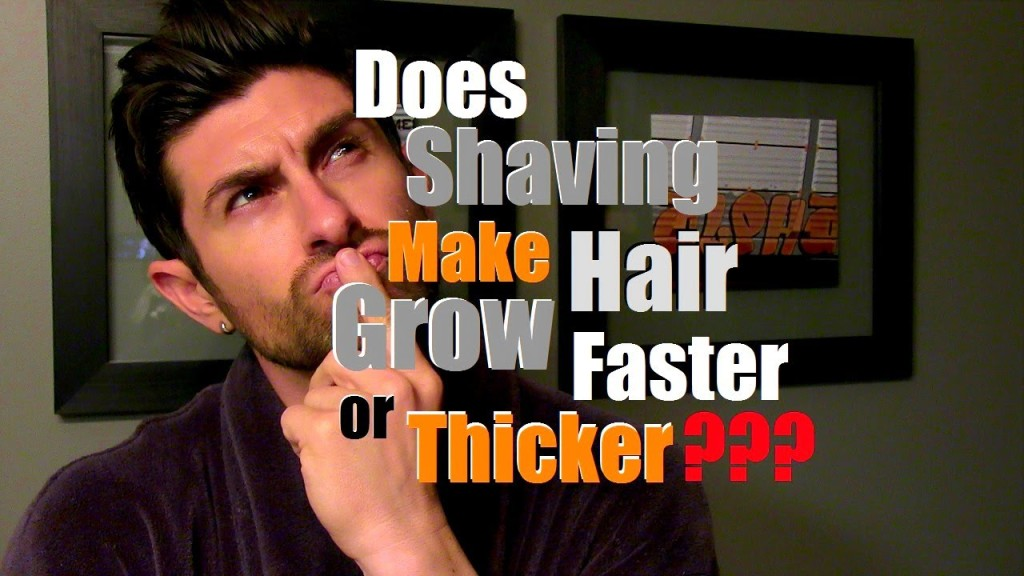 Why does hair grow faster when you cut it?