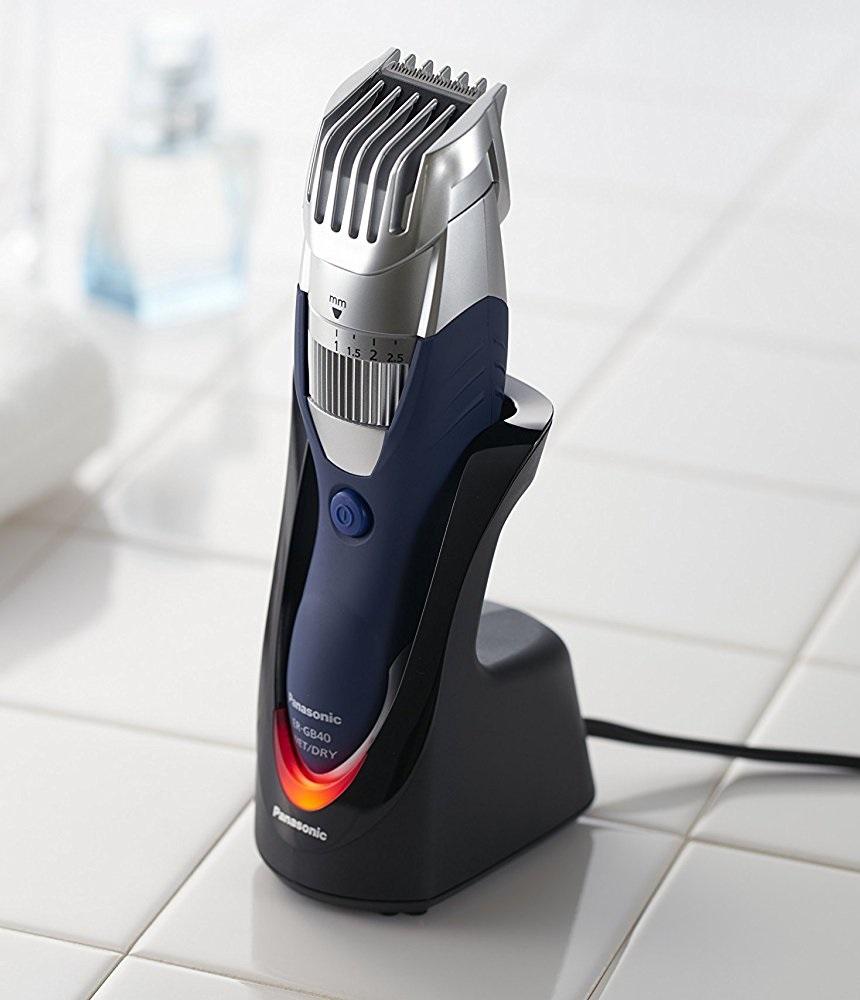 panasonic er gb40 s 19 precision hair and beard trimmer. Black Bedroom Furniture Sets. Home Design Ideas