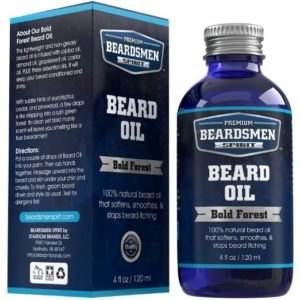 Beardsmen Spirit Premium Beard Oil and Conditioner